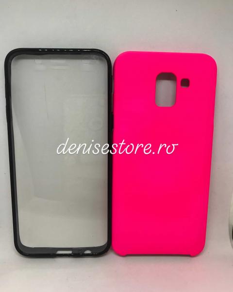 Husa 360 Pink Neon Samsung Galaxy J6 2018 0