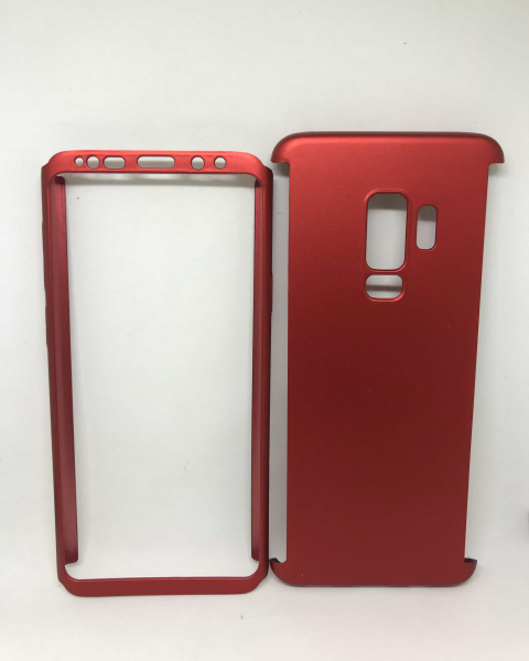 Husa 360 Plastic Red Samsung Galaxy S9 Plus 0