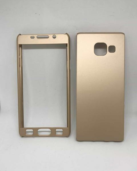 Husa 360 Plastic Gold Samsung A3 2016 0