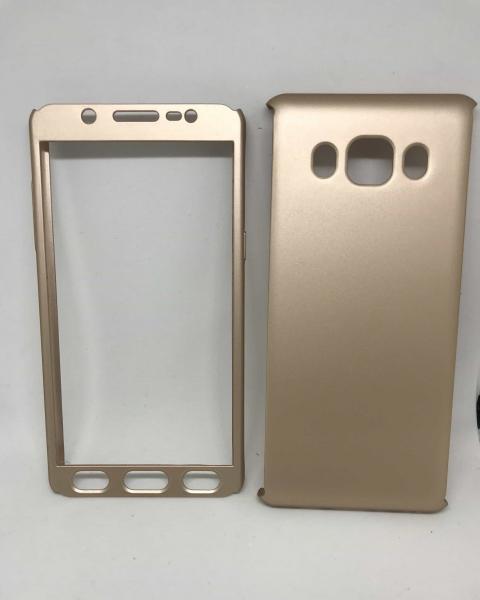 Husa 360 Plastic Gold Samsung Galaxy J5 2016 [0]