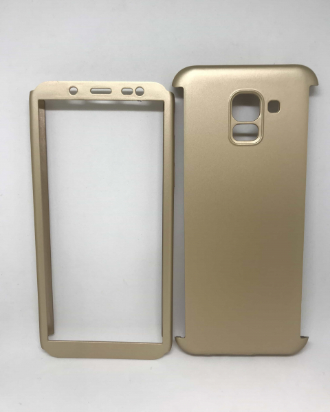 Husa 360 Plastic Gold Samsung Galaxy J6 2018 0