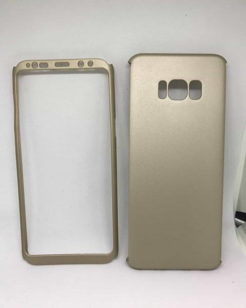 Husa 360 Plastic Gold II Samsung Galaxy S8 Plus 0