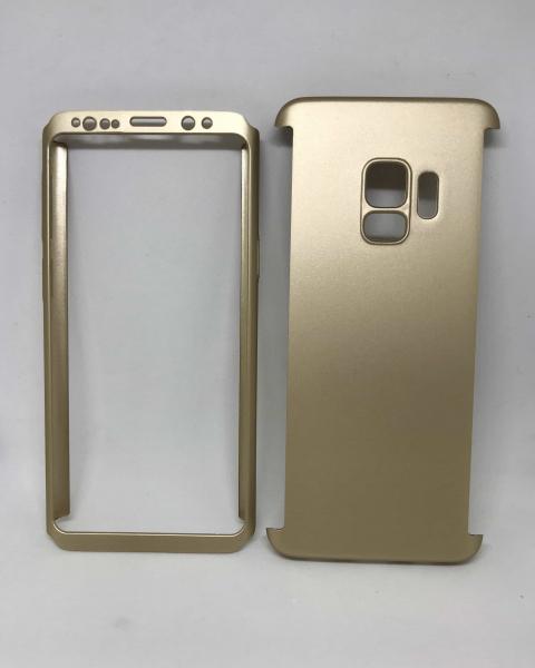 Husa 360 Plastic Gold Samsung Galaxy S9 0
