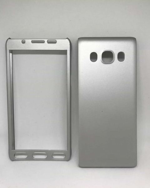 Husa 360 Plastic Silver Samsung Galaxy J5 2016 0
