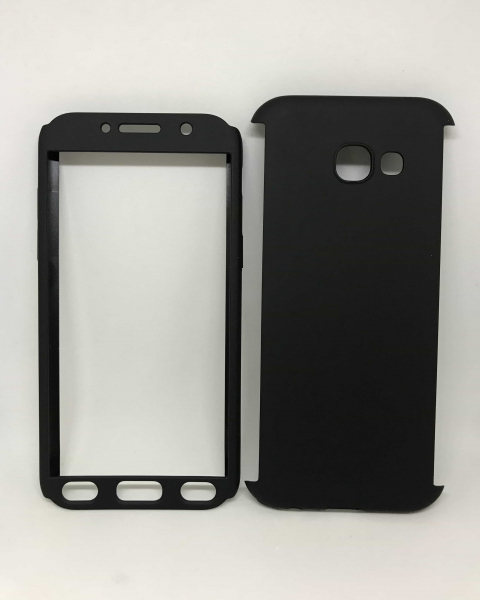 Husa 360 Plastic Black Samsung Galaxy A5 2017 0