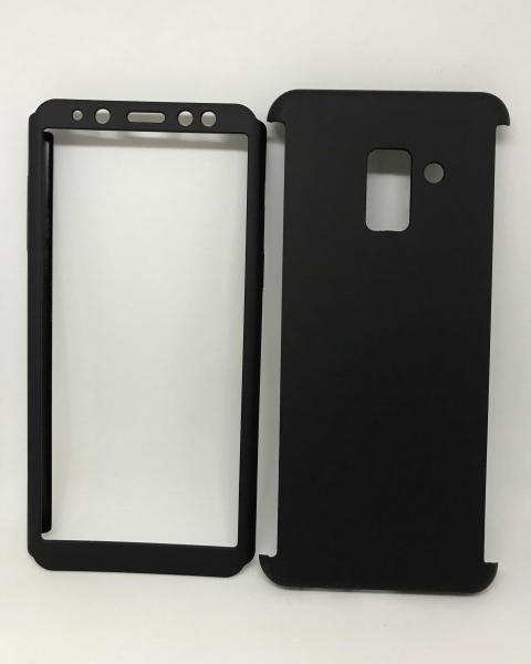 Husa 360 Plastic Black Samsung Galaxy A8 2018 0