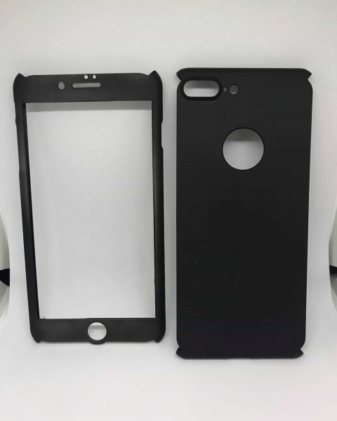 Husa 360 Plastic Black iPhone 7 Plus / iPhone 8 Plus 0