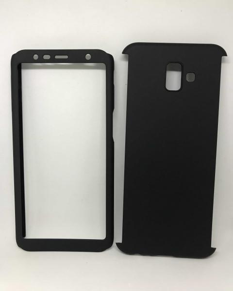 Husa 360 Plastic Black Samsung Galaxy J6 Plus 2018 0