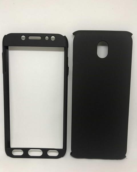 Husa 360 Plastic Black Samsung Galaxy J7 2017 0