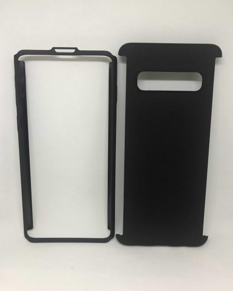 Husa 360 Plastic Black Samsung Galaxy S10 0