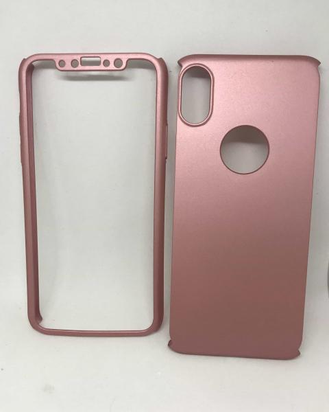 Husa 360 Plastic Rose iPhone X / XS 0