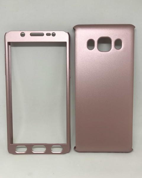 Husa 360 Plastic Rose Samsung Galaxy J5 2016 0