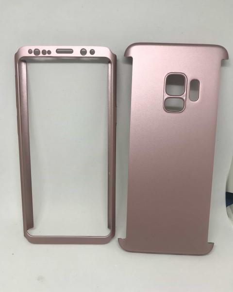 Husa 360 Plastic Rose Samsung Galaxy S9 0