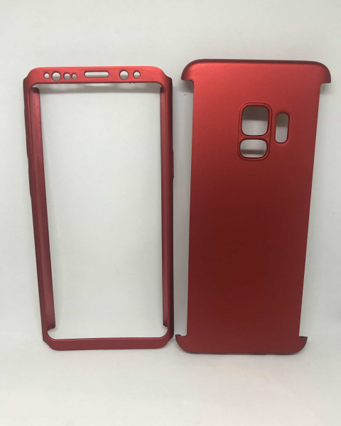 Husa 360 Plastic Red Samsung Galaxy S9 0