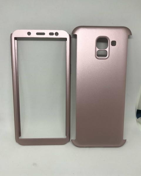 Husa 360 Plastic Rose Samsung Galaxy J6 2018 0