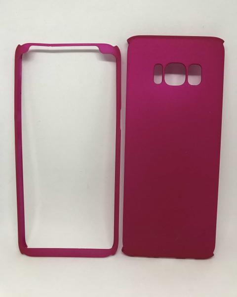 Husa 360 Plastic Roz Samsung Galaxy S8 [0]