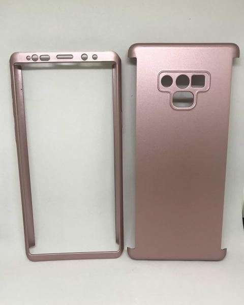Husa 360 Plastic Rose Samsung Galaxy Note 9 0