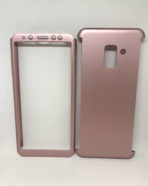 Husa 360 Plastic Rose Samsung Galaxy A8 2018 0