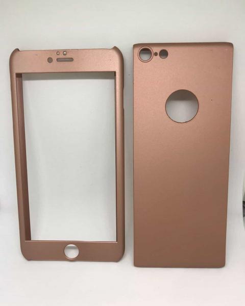 Husa 360 Plastic Rose Gold iPhone 6 Plus/ 6s Plus [0]