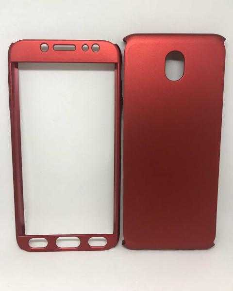 Husa 360 Plastic Red Samsung Galaxy J7 2017 0