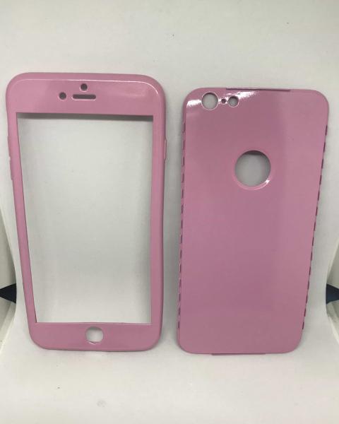 Husa 360 Silicon Roz iPhone 6 Plus/ 6s Plus [0]