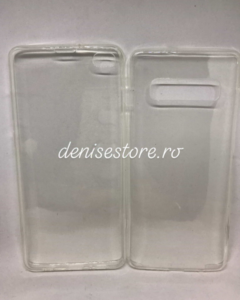 Husa 360 Silicon Transparent Samsung Galaxy S10 Plus 0