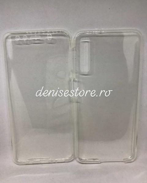 Husa 360 Silicon Transparent Samsung Galaxy A7 2018 0