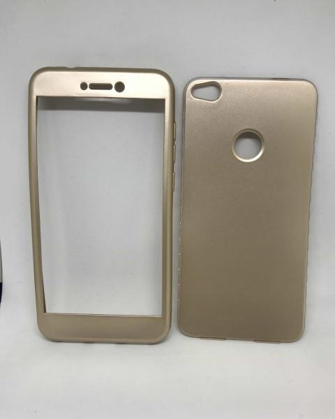 Husa 360 Silicon Gold Huawei P8 Lite 2017/P9 Lite 2017 0