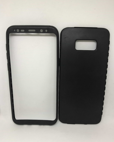 Husa 360 Silicon Black Samsung Galaxy S8 Plus 0