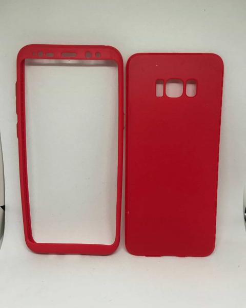 Husa 360 Silicon Red Samsung Galaxy S8 Plus 0