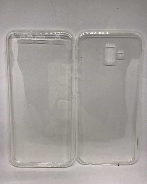 Husa 360 Silicon Transparent Samsung Galaxy J6 Plus 2018 [0]