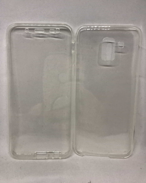Husa 360 Silicon Transparent Samsung Galaxy J6 2018 0