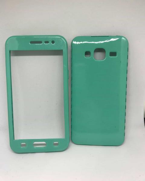 Husa 360 Silicon Verde Mint Samsung Galaxy J3 2016 0