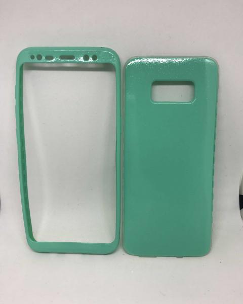 Husa 360 Silicon Verde Mint Samsung Galaxy S8 0
