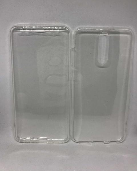 Husa 360 Silicon Transparent Huawei Mate 10 Lite 0