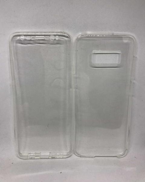 Husa 360 Silicon Transparent Samsung Galaxy S8 0