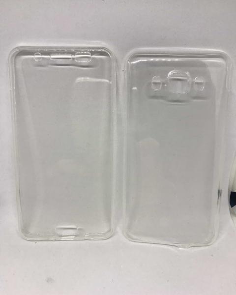 Husa 360 Silicon Transparent Samsung Galaxy J5 2016 0