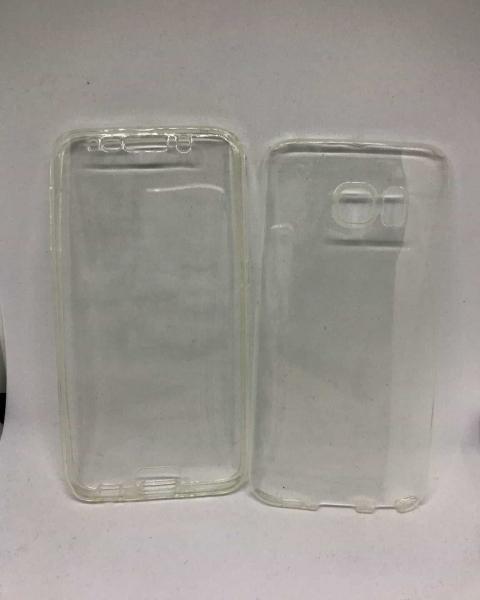Husa 360 Silicon Transparent Samsung Galaxy S6 Edge 0