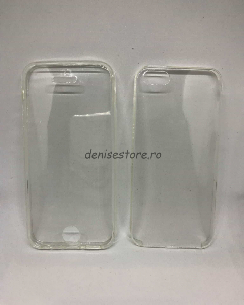 Husa 360 Silicon Transparent iPhone 5/5s/SE 0