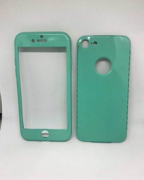 Husa 360 Silicon Verde Mint iPhone 7 / iPhone 8 0