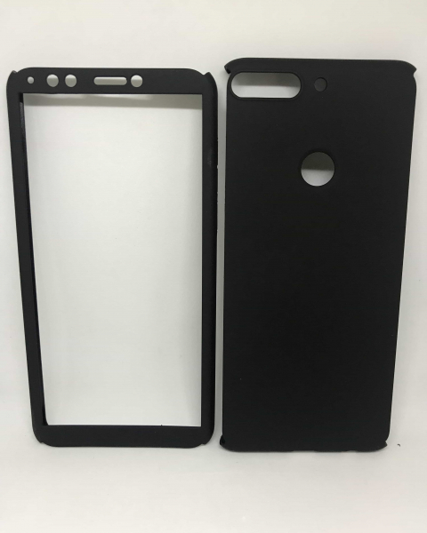 Husa 360 Plastic Black Huawei Y7 2018 / Y7 Prime 2018 [0]