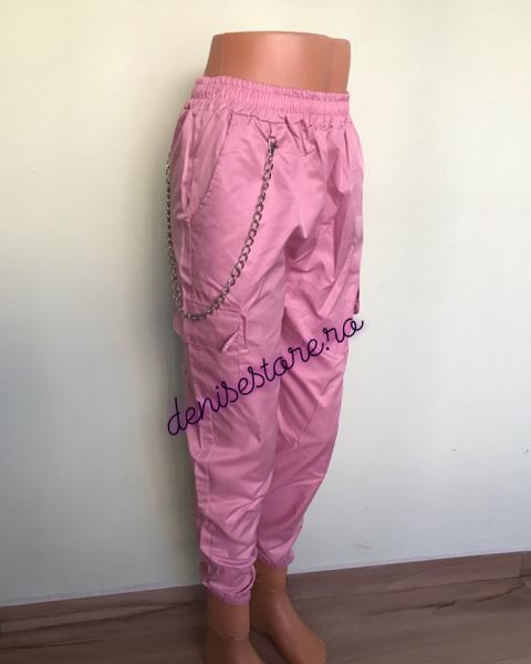 Pantaloni Cargo Pink 0