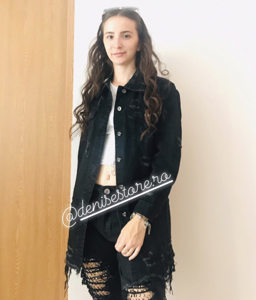Geaca Black Jeans 0