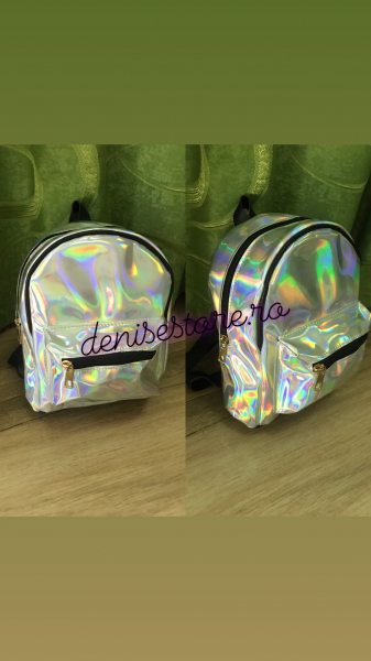 Rucsac Holographic Silver 0