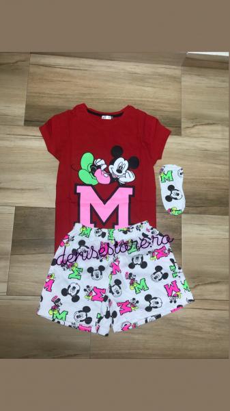 Pijama Mickey Neon 0