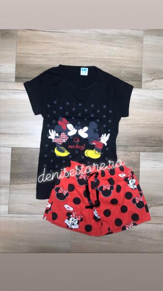 Pijama Mickey Kiss Black 0