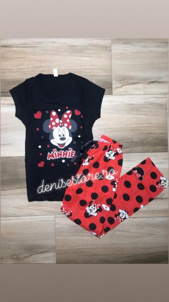 Pijama Minnie In Love Black 0