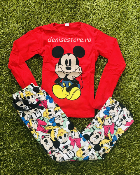 Pijama Mickey Cute Red 0