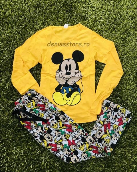 Pijama Mickey Cute Yellow 0