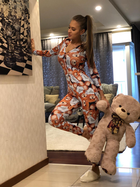 Salopeta Pijama Bear 0